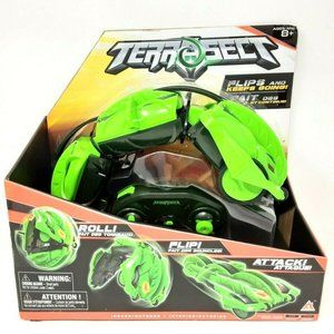 Terrasect Remote Control Rolling Reptile Green Kid